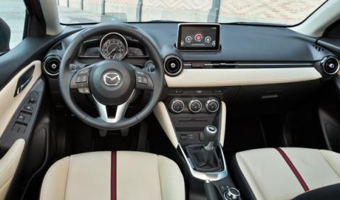 Mazda2 2015 interior