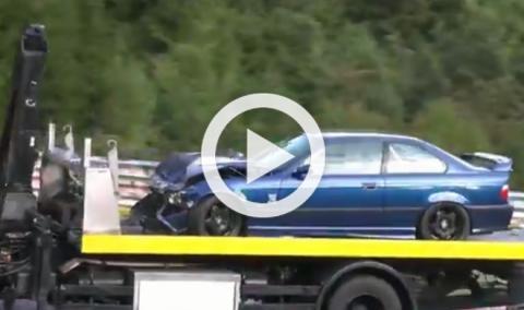 Vídeo: así acaban los coches accidentados en Nürburgring