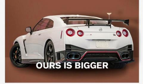 Nissan compara el trasero de Kim Kardashian con el del GT-R