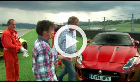 'The Perfect Road Trip 2': Hammond estrella Jaguar F-Type