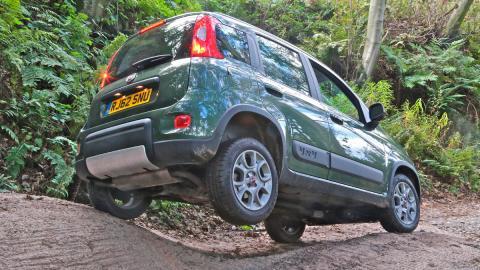 Fiat Panda Climbing 4x4 trasera