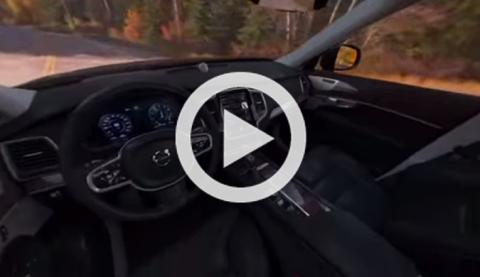 Paseo virtual en un Volvo XC90 gracias a Google Cardboard