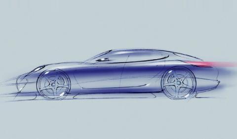 Porsche publica la imagen de un misterioso Panamera
