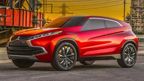 Mitsubishi XR-PHEV Concept - frontal
