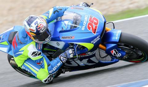Maverick Viñales Suzuki MotoGP
