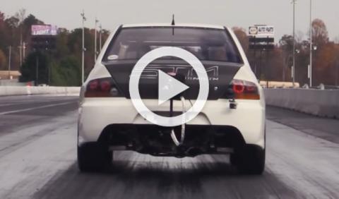 Vídeo: el Mitsubishi EVO más rápido que jamás has visto