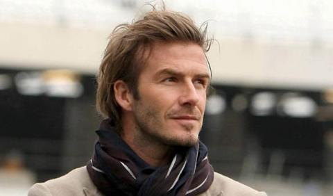 Publicada la foto del accidente de Beckham en Londres