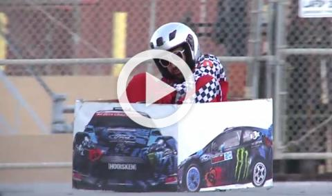 Ken Box Crazy Cart: una parodia en honor a Ken Block
