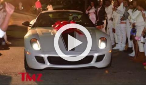 Lil Wayne regala a su hija un BMW y un Ferrari 599 GTO