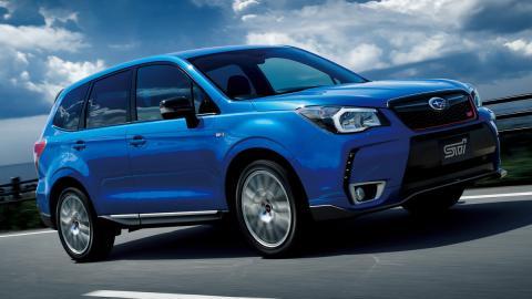 mejores vehículos viajar invierno Subaru Forester