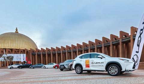 lexus coche oficial sicab 2014