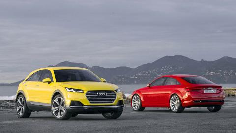 Prueba de prototipos: Audi TT Offroad y Audi TT Sportback