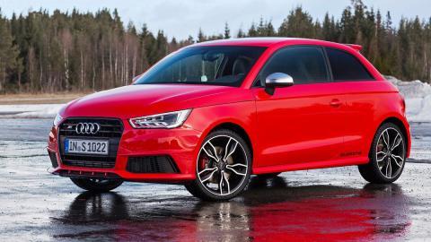 rivales nuevo Mini John Cooper Works Audi S1