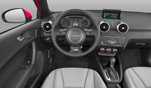 Audi A1-salpicadero