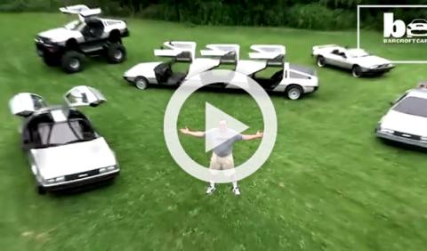 Un fanático de DeLorean inventa cinco versiones del coche