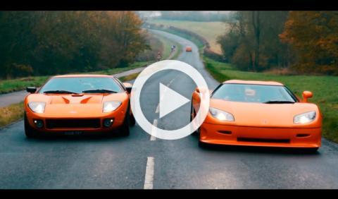 Vídeo: Ford GT Mirage 720 y Koenigsegg CCR
