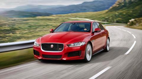 jaguar xe delantera