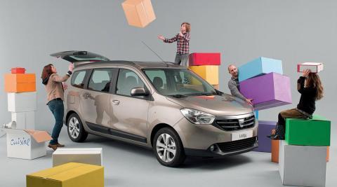 Dacia Lodgy delantera