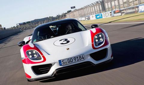 Porsche cambia piezas del chasis a unidades del 918 Spyder