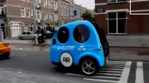 Tata Airpod: un concept que viaja con aire, por 8.000 euros
