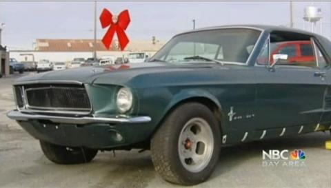 Esta mujer recupera su Mustang después de 28 años