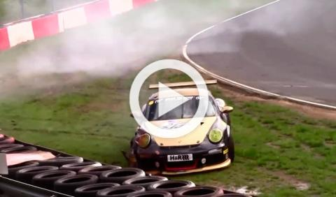 Los accidentes más espectaculares de Nürburgring en 2014