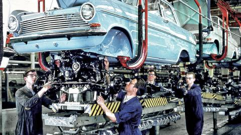 Cierre de la planta de Opel en Bochum 1