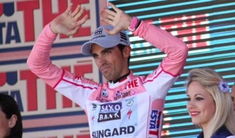 El coche de Alberto Contador