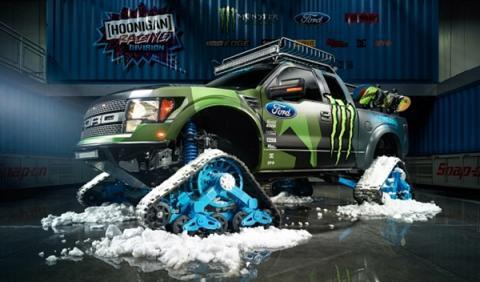 Ford F-150 RaptorTRAX: el nuevo juguete de Ken Block