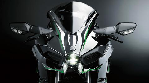 Kawasaki Ninja H2 frontal