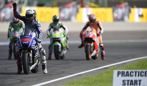 Parrilla de salida  MotoGP GP Valencia 2014