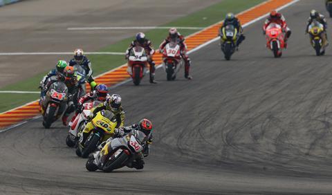 Moto2 seguirá con motores Honda hasta 2018
