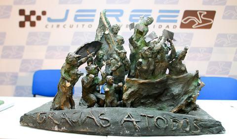 Elegido el monumento a la afición del Circuito de Jerez
