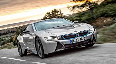 BMW i8 y su láser