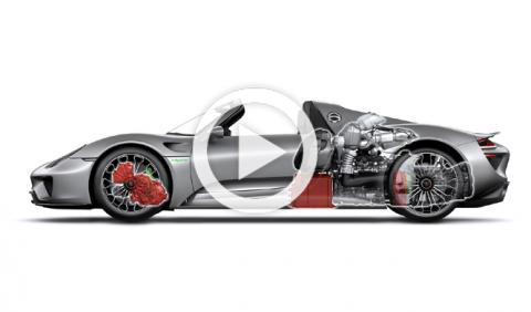 Vídeo: así se fabrica el Porsche 918 Spyder de 887 CV