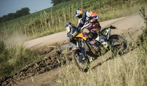 Rally Dakar 2015, Etapa 1: Sunderland gana en motos