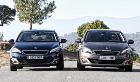 Peugeot 308 SW 1.2 PureTech contra Peugeot 308 SW 1.6 e-HDi