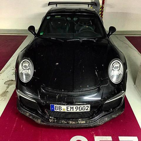 porsche 911 gt3 rs frontal