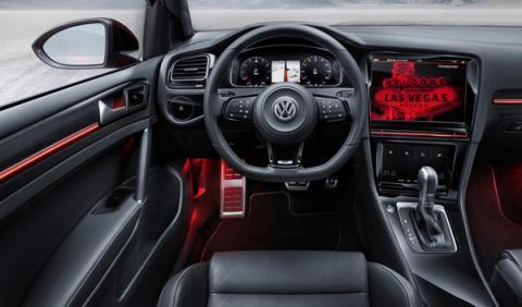 interior Volkswagen Golf R Touch Concept Car