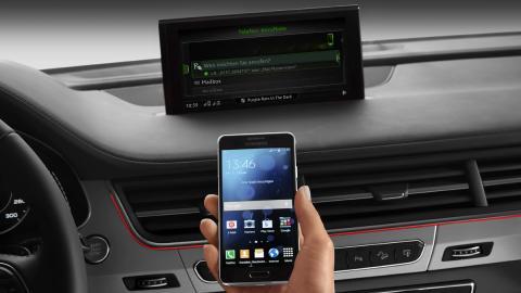 Audi tecnología CES 2015