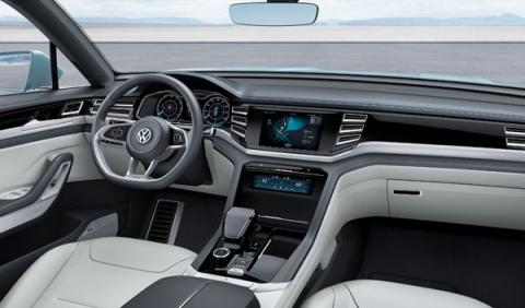 volkswagen cross coupé interior
