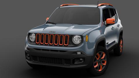 Mopar Detroit 2015 Jeep Renegade off-road Mopar