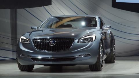 Buick Avenir Concept frontal