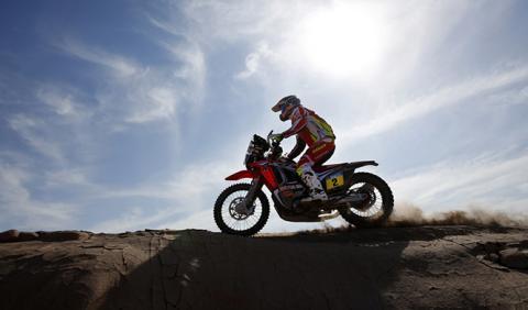 Rally Dakar 2015, Motos Etapa 8: Barreda pierde el Dakar