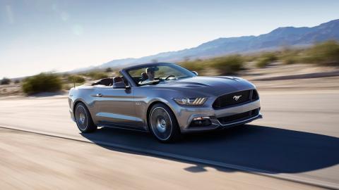 coches perfectos Ruta 66 Ford Mustang Convertible