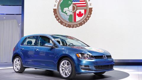 Volkswagen Golf: mejor coche del año en Norteamérica
