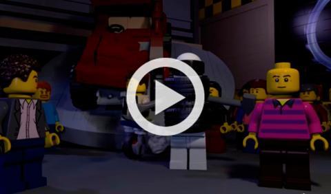 Vídeo: los presentadores de Top Gear se convierten en Lego