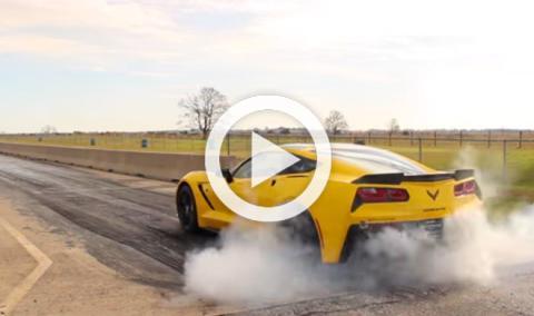 Vídeo: Mira cómo este Hennessey destroza el cuarto de milla