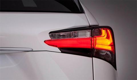 Cazado el Lexus RX 2016