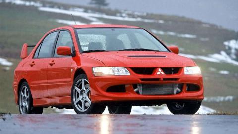 coches reyes nieve Mitsubishi Lancer EVO